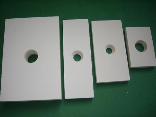 江油氧化鋁耐磨陶瓷片襯板異形件